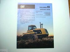 Caterpillar Challenger 65 Agricultural Tractor Brochure 10 Pages               #