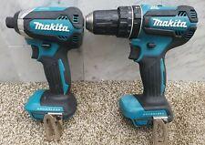 Makita 18v lxt brushless impact driver DTD153 & Combi Drill DHP485