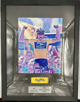 "Lance Armstrong Signed ""2004 Team YELLOW finish Line"" ALSO HAS 3 Links Of Bike C"
