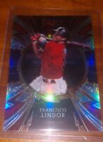 2020 Panini Select Francisco Lindor Sparks Holo Prizm Refractor SP-2 Cleveland