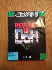 "ARKANOID II Revenge of Doh  Rare PC IBM 1989 Video Game, 5.25"" Complete DOS"