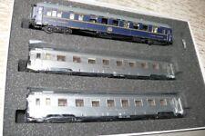 """HS L.S. Models 41 103  Wagenset  dreiteilig Mistral 56  """"Paris-Lyon""""  SNCF  HO"""