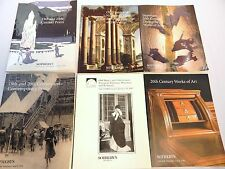 Sotheby's 19th & 20th Century Art -Lot of 6 Books