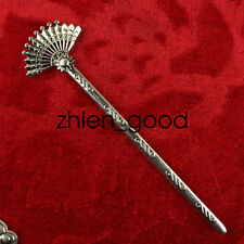 China old Miao silver manual Exquisite noble Sculpture Hairpin CZW50
