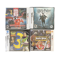 Nintendo 3DS DS Game Bundle Big Hero 6 Harry Potter Toy Story 3 Angry Birds