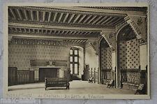 """CPA """" Château de PIERREFONDS - La Salle de Réception"""