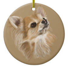 Chihuahua Dog Ornament - Personalize with Name - Great as Christmas Gift!