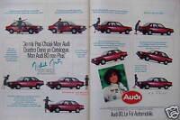 PUBLICITÉ DE PRESSE 1981 AUDI 80 CL 5 CV LA FOI AUTOMOBILE - ADVERTISING