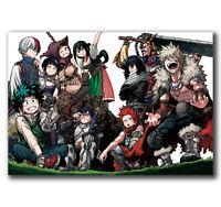 Anime Boku No Hero Academia Shouta Aizawa Silk Poster//Wallpaper 24 X 13 inches