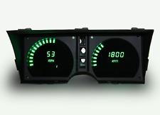 C3 Corvette 1978-1982 LED Digital Dash Gauge Instrument Cluster Direct Fit Green