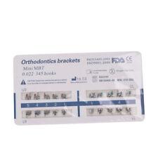 Dental Orthodontic Metal Brackets Mini/Standard Roth/MBT 022 with 345 Hooks