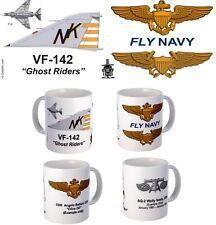 """VF-142 """"Ghost Riders"""" F-4 Phantom mug."""