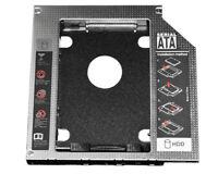 Aluminum 2nd 12.7mm SSD HDD SATA Drive Caddy For HP EliteBook 8460w 8560w 8570w