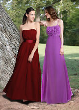 Bandeau Patternless Synthetic Maxi Dresses for Women
