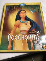 Walt Disney Pocahontas(Blu-ray/DVD+Digital)Collector Edition Slipcover