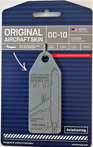 Aviationtag  United Airlines DC-10 N326FE  by FlapsFive - limitiert !