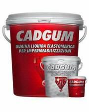 Guaina Liquida Impermeabilizzante in 5 Colori Disponibili 5 Kg CAD GUM + Guanti