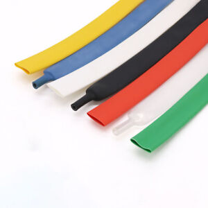 Heat Shrink 3:1 Electrical Sleeving Cable Wire Heatshrink Tube Dia.1.6mm-39mm