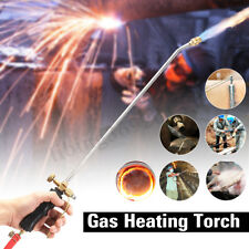 Heating Propane Butane Gas Flame Torch Hose Roofer Plumber Soldering Tool US