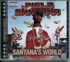Juelz Santana - Santana's World [CD] RARE DIPSET - SEALED MINT