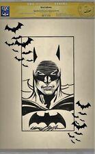 CGC SS Signed Neal Adams BATMAN JLA Justice League Original DC Comic Art Sketch