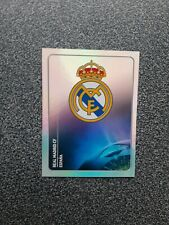 PANINI CHAMPIONS LEAGUE 2011/12 NR. 209 BADGE REAL MADRID CF