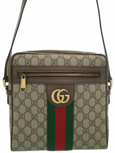 GUCCI OPHIDIA GG Small Messenger Bag 547926 #T092