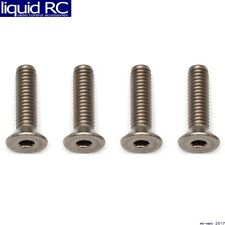Associated 81288 M4x16mm Titanium FHCS Flat Head Cap Screws (4)