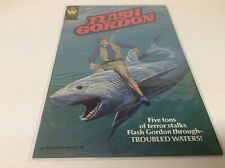 FLASH GORDON #30 (WHITMAN/RARE/BRONZE AGE/TV SHOW/SHARK COVER/091842)