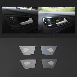 Fit For Ford Escape Kuga 2013-2019 Interior Door Bowl Cover Trim Black Titanium