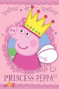 Peppa Pig Poster Peppa Pig A4 Poster Laminated