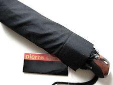 Pierre Cardin Automatik Regenschirm  Schaltknaufgriff schwarzer Taschenschirm