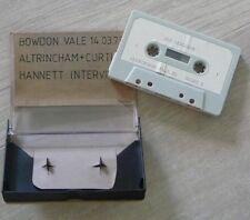 Cassette K7 Tape Joy Division Live Bowdon, Altringham 14.3.79, Curtis Hannett