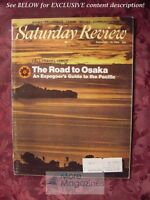 Saturday Review September 13 1969 OSAKA PACIFIC Travel Guide