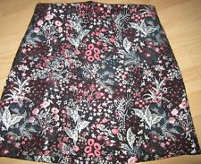 LADIES FLORAL PATTERN A LINE SKIRT size 8