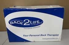 BACK2LIFE Continuous Motion Therapeutic Back Therapy Massage (NEW) in opened Box