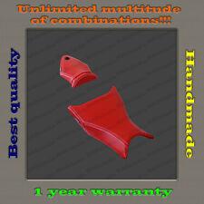 Custom Design Seat Cover BMW S1000RR 09-11 red+white-thread 001