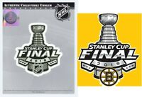 2019 STANLEY CUP FINAL JERSEY PATCH BOSTON BRUINS CHAMPS NHL OFFICIALLY LICENSED