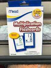 Mead Multiplication Flashcards2nd Grade & Up