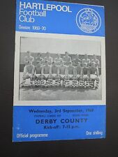 Hartlepool V Derby L cup   1969/0
