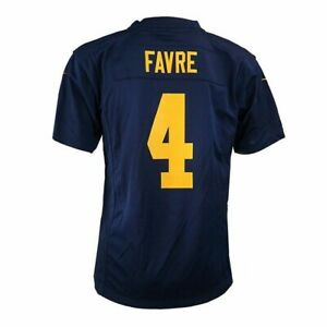 Brett Favre Nike Green Bay Packers Game Day Alt Youth Jersey Small *MINOR FLAWS