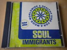 Soul ImmigrantsA healthy vibe for a mood worldwideCD1995soul funk jazz10 mu