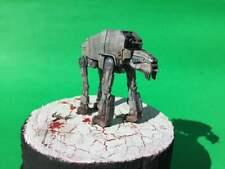 Pro Built - Bandai At-M6 Battle of Crait mini-diorama