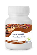 Royal Jelly Gellee 150mg Honey 30/60/90/120/180/250 Capsules