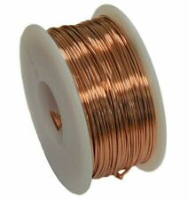 Solid Copper Round Wire ( 1/2 Lb. Spool ) Choose Gauge & Temper / 10 To 30 Ga
