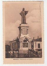 CARTOLINA 1924 BRESCIA MONUMENTO AD ARNALDO RIF. 15399