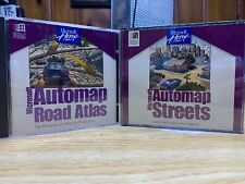 Microsoft PC Software AutoMap Road Atlas Automap streets Windows 95