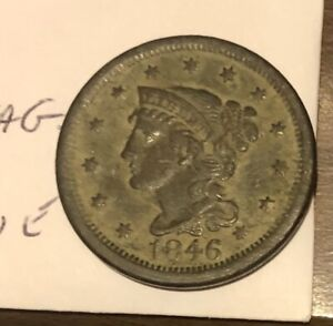 1846 United States  Large Cent
