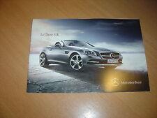 CATALOGUE Mercedes SLK de 2011