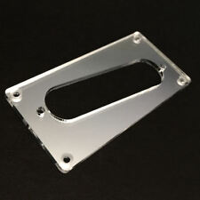 Guitar Parts CONVERSION PICKUP RING Humbucker Single Coil - SLANT CHROME MIRROR
